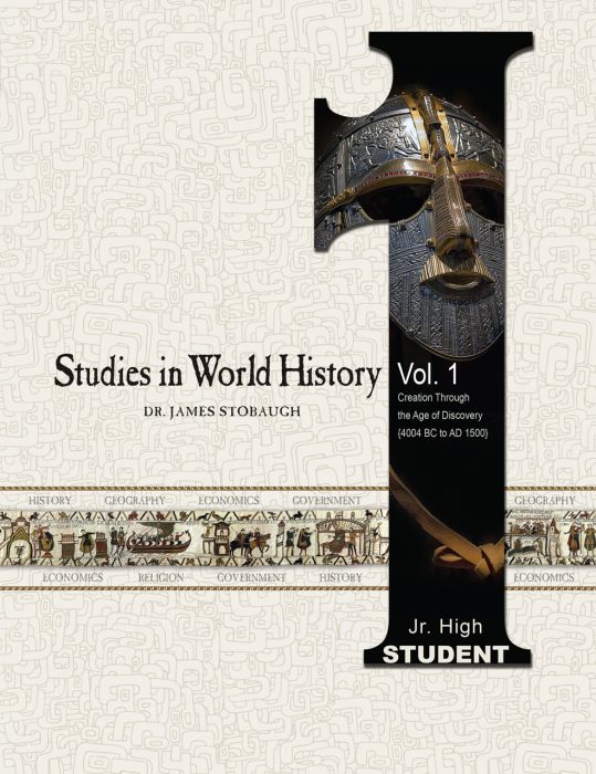 Studies in World History Vol. 1 ( Student - Download)