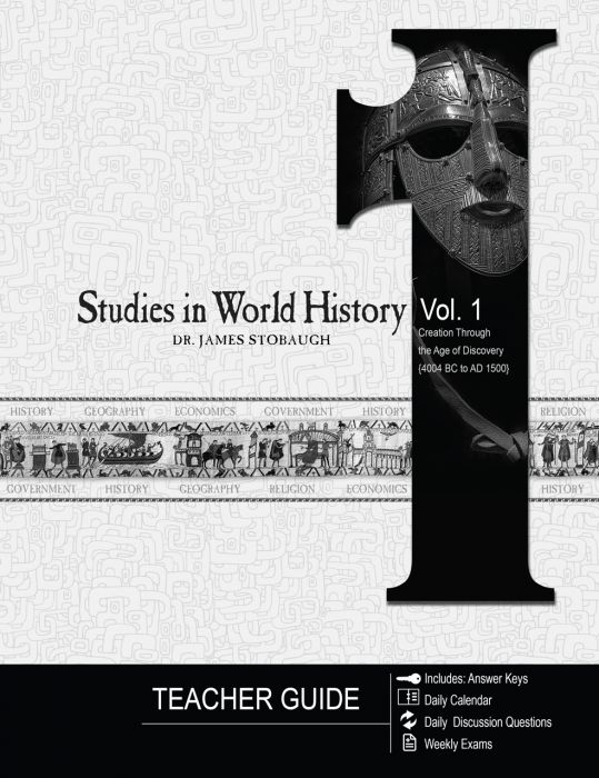 Studies in World History Vol. 1 (Teacher Guide - Download)