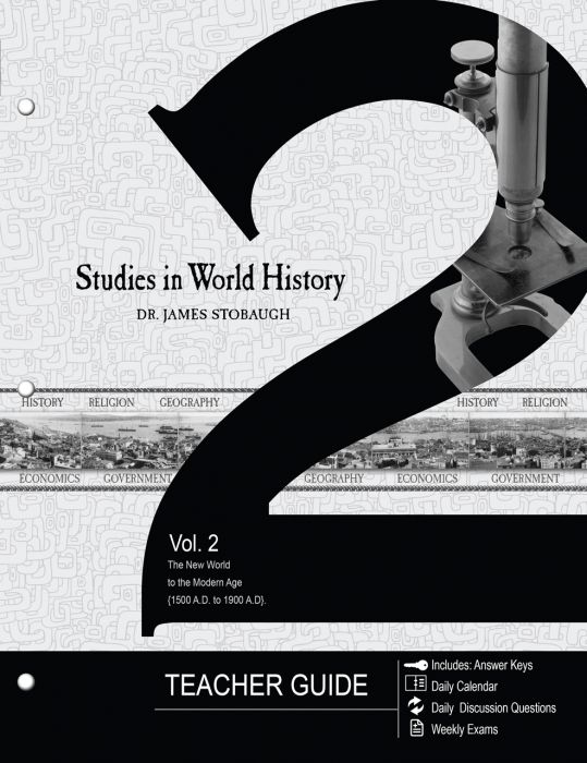 Studies in World History Vol. 2 (Teacher - Download)