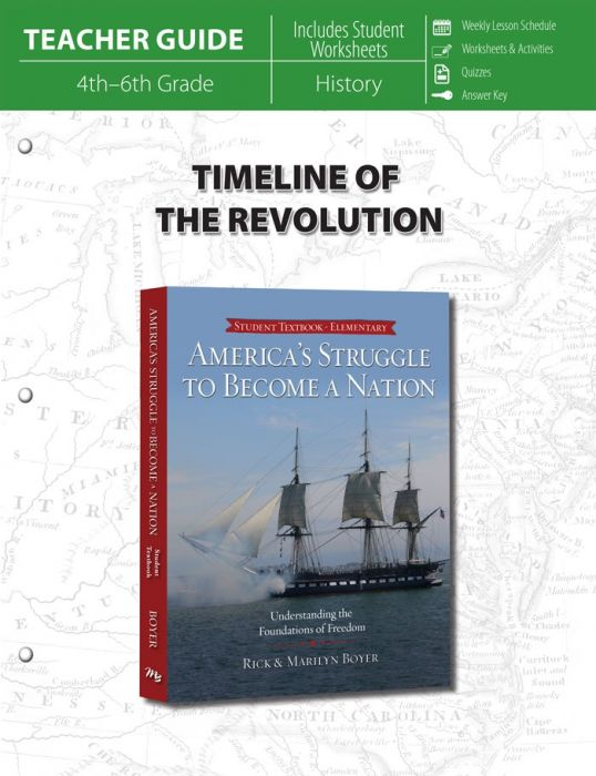 Timeline of the Revolution (Teacher Guide)