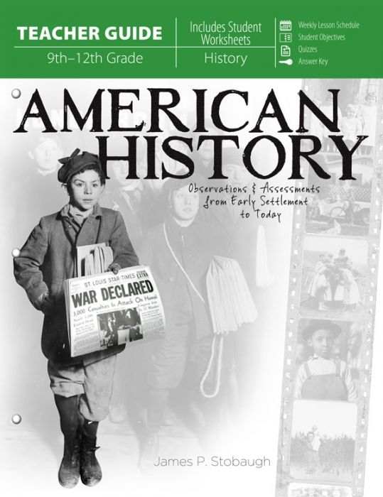 American History (Teacher Guide - Download)