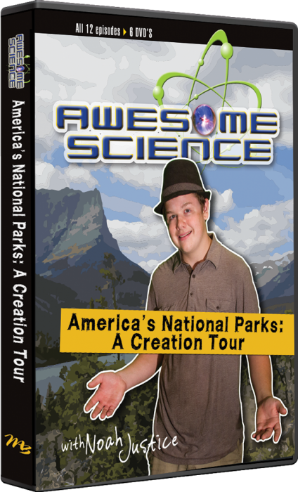 America's National Parks: A Creation Tour (6 DVD Set)