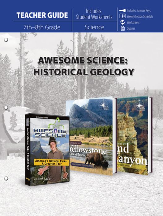 Awesome Science: Historical Geology (Teacher Guide)