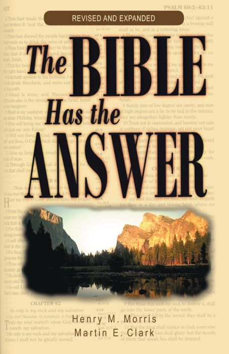The Bible Has the Answer