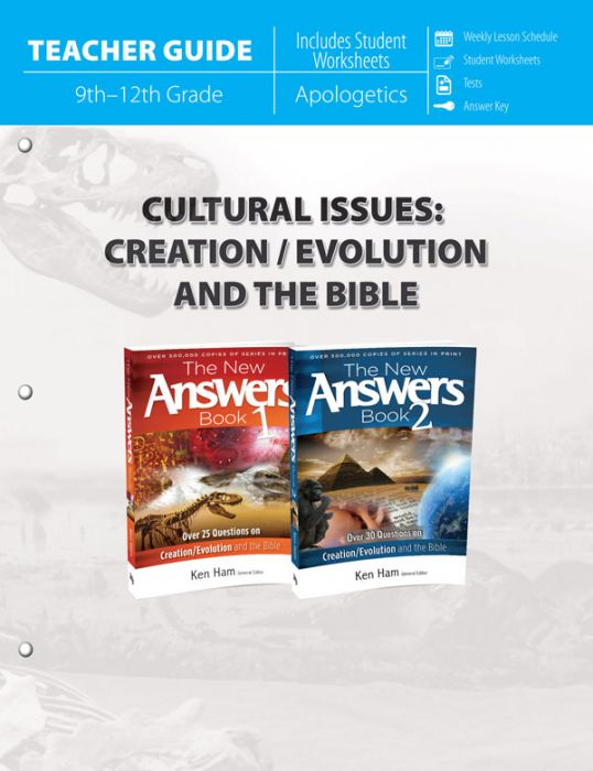 Cultural Issues: Creation/Evolution and the Bible (Teacher Guide)