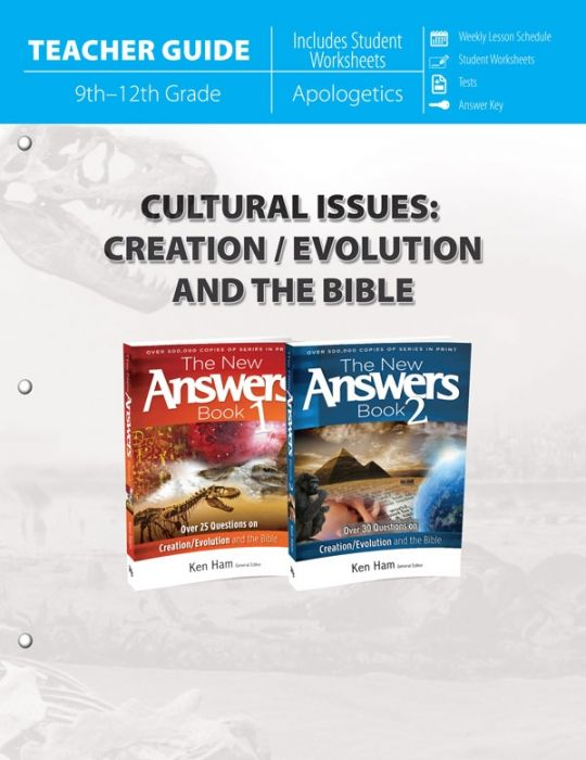 Cultural Issues: Creation/Evolution and the Bible (Teacher Guide - Scratch & Dent)