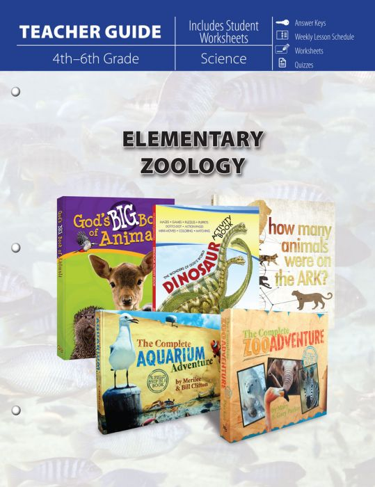 Elementary Zoology (Teacher Guide)