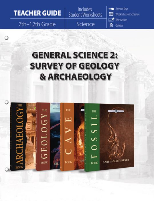 General Science 2: Survey of Geology & Archaeology (Teacher Guide - Download)