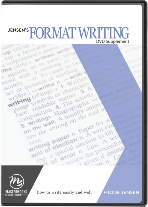Jensen's Format Writing DVD Supplement