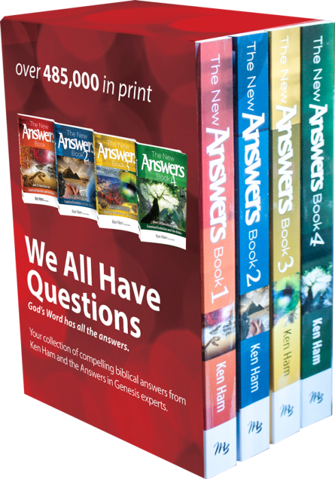 4 Volume Answers Book Box Set