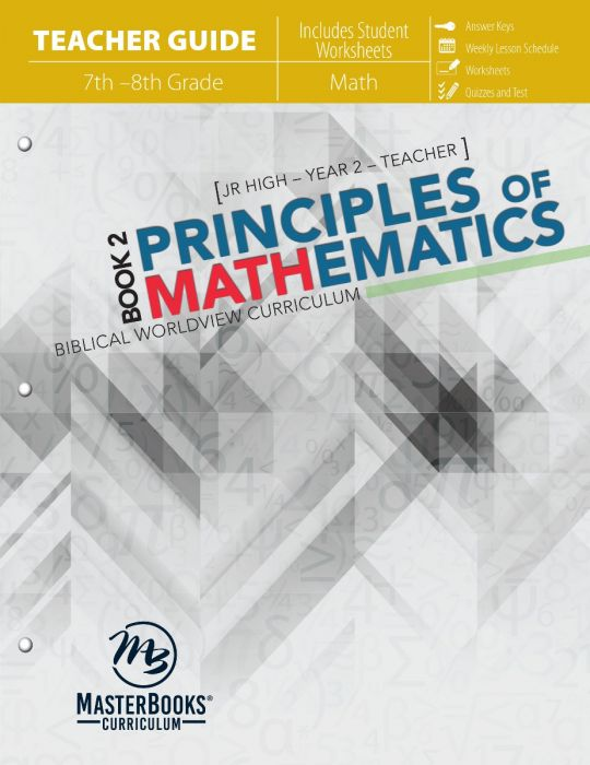 Principles of Mathematics Book 2 (Teacher Guide - Download)