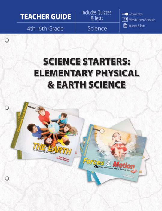 Science Starters: Elementary Physical & Earth Sciences (Teacher Guide - Download)
