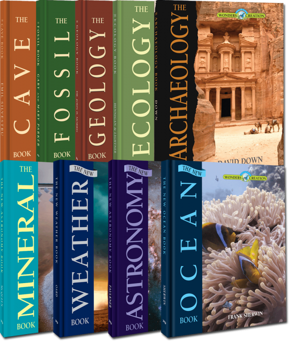 Wonders of Creation - 9 Book Set