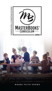 Master Books Homeschool Curriculum 2019 Catalog