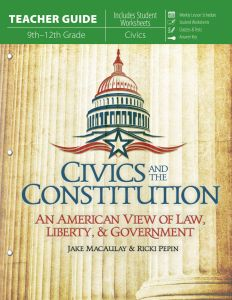 Civics and the Constitution (Teacher Guide - Download)