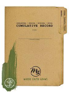 Cumulative Record (Download)