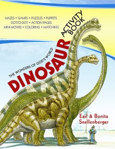 Dinosaur Activity Book (Download)