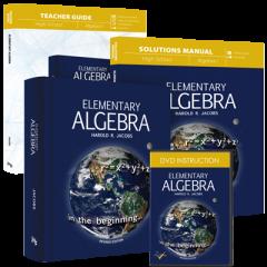 Elementary Algebra (Curriculum Pack w/DVD)