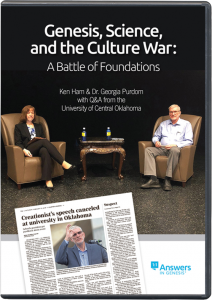 Genesis, Science, and the Culture War (DVD)