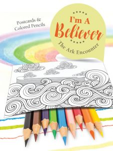 I'm A Believer: Postcards & Colored Pencils