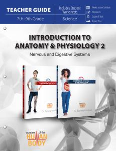 Introduction to Anatomy & Physiology 2 (Teacher Guide - Scratch & Dent)