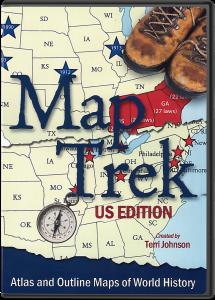 Map Trek: US Edition (CD)