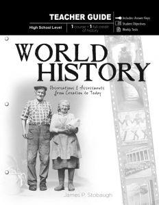 World History (Teacher Guide - Download)