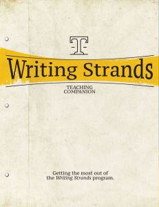 Writing Strands: Teaching Companion (Download)