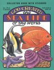 God Created the Sea Life of the World
