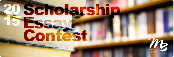 2015 Master Books Scholarship